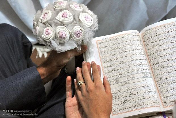 برگزاری مراسم عروسی فقط با یک کارت!/ ازدواج آسان به برکت کرونا