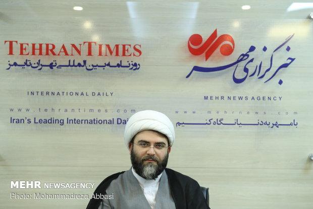 بازدید حجت الاسلام قمی از خبرگزاری مهر