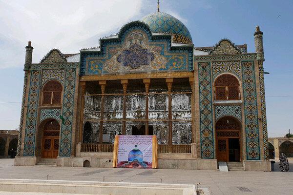 مرمت و بازسازی بقعه امامزاده حسین(ع) قزوین آغاز شد