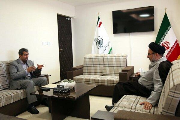رئیس کمیسیون اقتصادی مجلس با رئیس سازمان اوقاف دیدار کرد