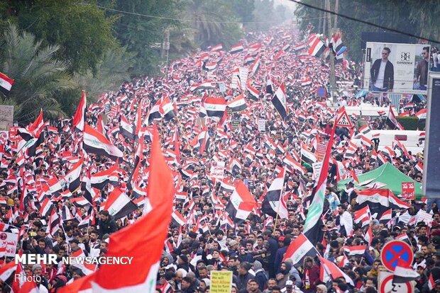 بیانیه مجمع تقریب در پی تظاهرات میلیونی مردم عراق علیه آمریکا