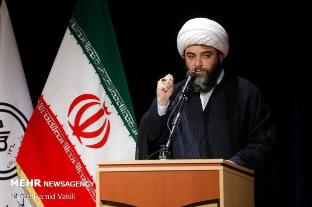 رئیس سازمان تبلیغات اسلامی در صحن علنی مجلس سخنرانی میکند
